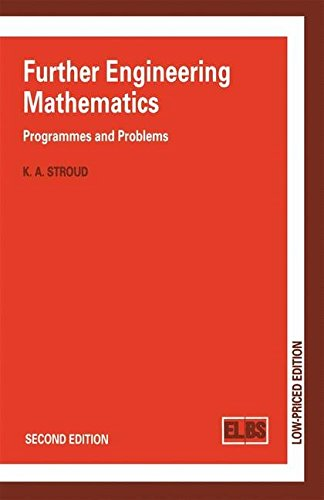 Further Engineering Mathematics: Programmes and Problems
