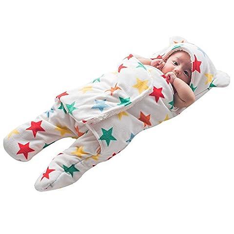 GreForest couverture bébé naissance lange bébé Baby Swaddle Blanket Jambes