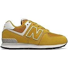 new balance hombres 574 amarillas