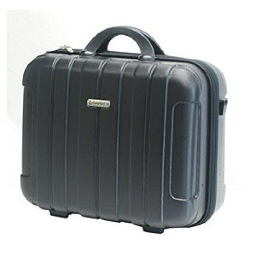 Attache case DAVIDT'S D269532 robuste et légère ABS pour PC et documents noir