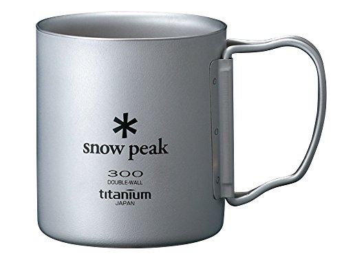 Folding Cup (Snow Peak Titanium Double Wall Cup 300 Folding Handle)
