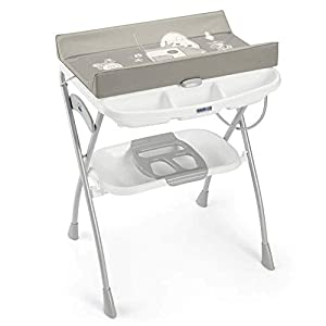 XHDMJ Changing Table Baby Shower Foldable Multifunctional Touch Massage Table Baby Care Desk Crib Diaper Table,D   9