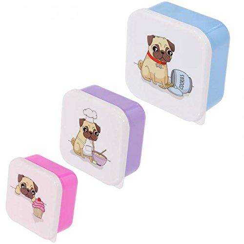 3er Set Lunchbox Mops