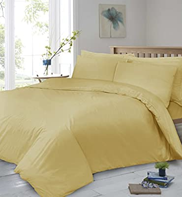 Linen Zone 400 Thread Count 30CM/12 Inch Deep Pure Egyptian Cotton Super Soft Hotel Quality Fitted Bed Sheet