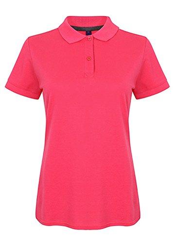 Ladies Micro-Fine Pique Polo Shirt, Größe:M, Farbe:FUCHSIA (Micro-piqué Polo)