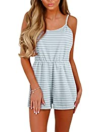 bec88d942f Amazon.es  vestidos blanco playa - Monos   Mujer  Ropa