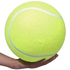 Idea Regalo - Ardisle XXXL Pet Tennis Ball Toy Dog Puppy Training Exercise gigante Jumbo 24 centimetri novità