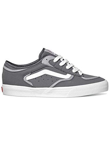 Vans Rowley Pro, Sneaker uomo Grigio Synthetic Pewter pewter light grey
