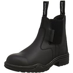 Just Togs Hampton schwarz 10 en cuir - Botas de equitación (need to be reviewed), color negro, talla FR: 42