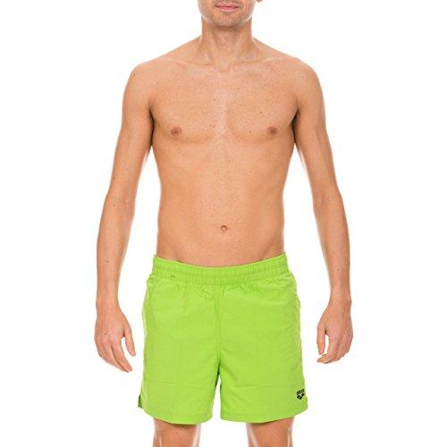 Arena Fundamentals Side Vent Short de bain pour homme Vert - Energy-Green/Asphalt
