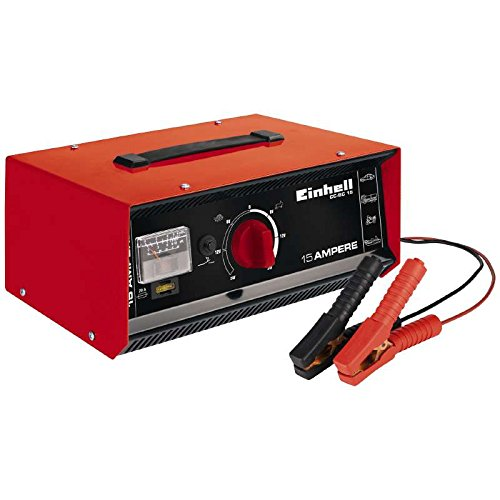 einhell batterie ladegeraet Einhell 1075031CC-BC 15 1075031–Batterie-Ladegerät Akku, Gehäuse aus Stahlblech BLECH STAHL, 6–12–24V6 / 12/24 V.
