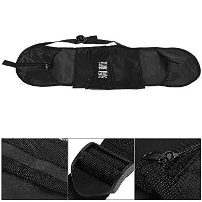 Alomejor Skateboard Bag Waterproof Skateboard Carry Case Schultertasche für das Skteaboard