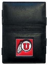 NCAA Utah Runnin Utes Leather Jacob's Ladder Wallet