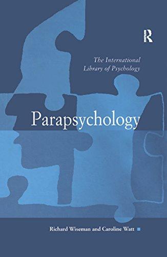 Descargar PDF Gratis Parapsychology (The International Library of Psychology)