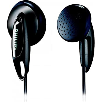 Philips SHE1350 In-Ear Headphones (Black)