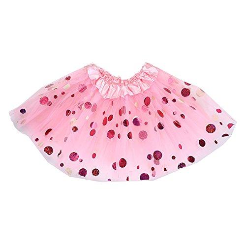 Kostüme Ballett Klassischer Tutu (OULII Baby Mädchen Tutu Rock Tutu)