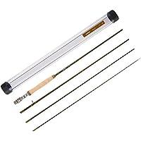 Piscifun Sword - Caña de pescar de grafito, 4 piezas, 2,7 m – IM7 fibra de carbono – Colocación precisa – Ingenioso diseño – Guía cromada y tubo de varilla duradero. Tamaño:4/5/6/7/9., 9 feet