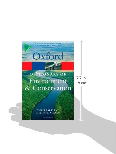 A Dictionary of Environment and Conservation (Oxford Quick Reference)