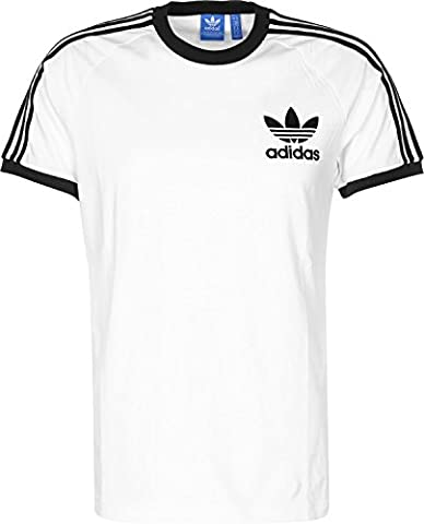 adidas Herren Clfn T-Shirt, White/Black, M