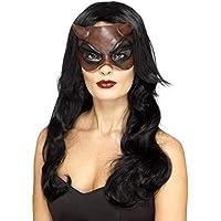 SmiffyS 45090 Máscara De Diablo Enmascarado Señora, Rojo, Tamaño Único
