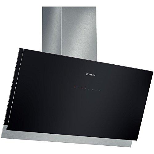 Bosch DWK098G61 Serie 8 Wandhaube / 90 cm / Gehäusematerial Edelstahl / Glas / schwarz