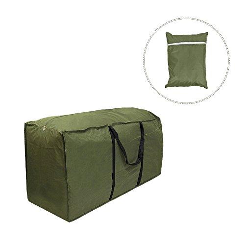 gaeruite Aufbewahrungstasche gartenauflagen, Aufbewahrungstasche Transporttasche für Gartenmöbelauflagen,wasserdichte leichte Tragetasche (173x76x51 cm)