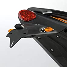 R&G Racing Products LP0108BK Licence Plate Holder