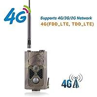 "Suntek 4G 3G Gprs Wildkamera Fotofalle GSM 16MP 1080P Full HD Jagdkamera 120 ° Weitwinkelobjektiv Vision Infrarote 30m 24 IR-LEDs IP65 Wasserdicht 2.0"" LCD Display 550LTE"