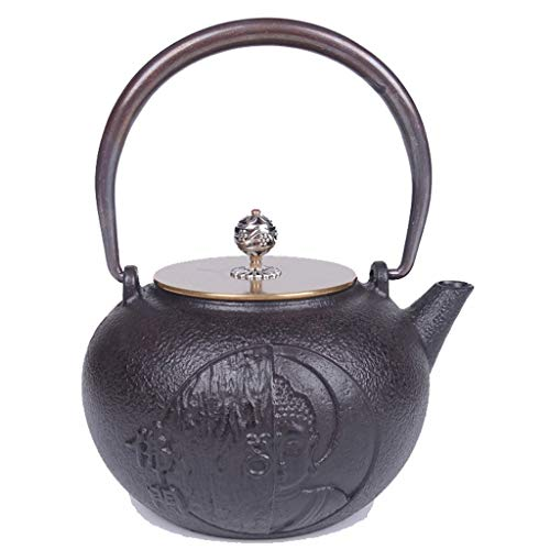 Q-HL Japanische Teekannen gusseisen Teekessel Kaff Japanischen Stil Gusseisen Teekanne Reine Hand...