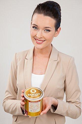 stin | Biotin | Q10 | Anti-Age Gesicht Dekollete Facelift Brustlifting | Kollagen pulver MEERES KOLLAGEN peptide | Anti-Falten Lifting Marine Collagen drink | Reparatur Haut glänzen ()