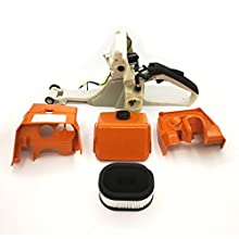 Gas Fuel Tank Rear Handle with Air Filter & Cover Base for STIHL MS440 044