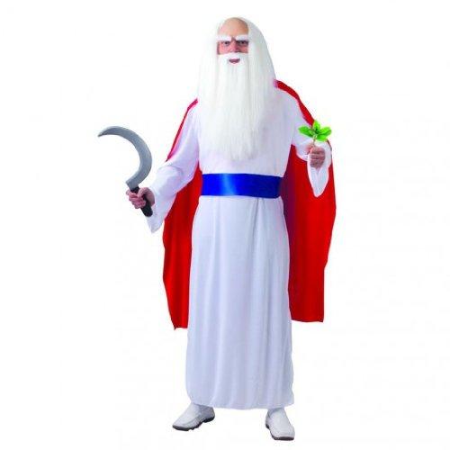 Druide Miraculix Kostüm - Größe M / L - Fiesta (Druide Kostüm)