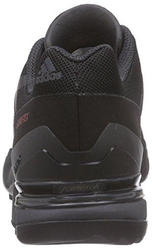 adidas Terrex Fast R Gtx, Chaussures de Randonnée Basses femme Noir (Core Black/Dark Grey/Power Red)