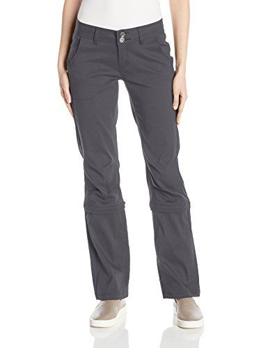 prAna Women's Regular Halle Convertible Pants, 4, Coal - Prana Convertible Pants