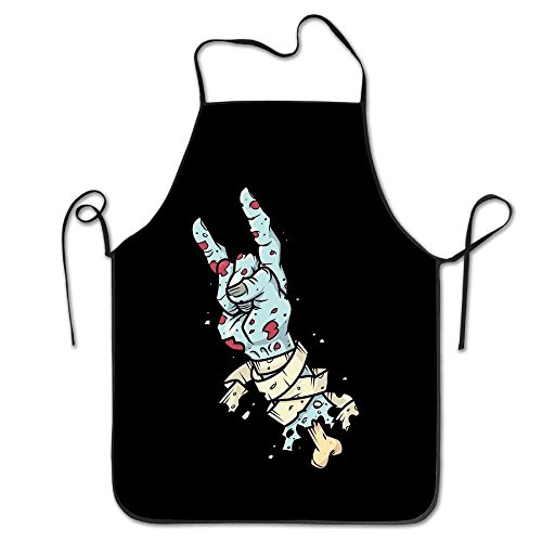 color Otter Awesome Apron Durable Easy Cleaning Creative Bib for Man and Woman Standar Size ()
