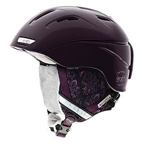 SMITH 3001100508 Casque de ski pour femme Intrigue Violet baroque Taille S