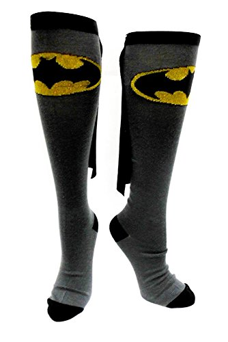Batman Kniesocken, grau