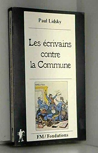 Les ecrivains contre la commune