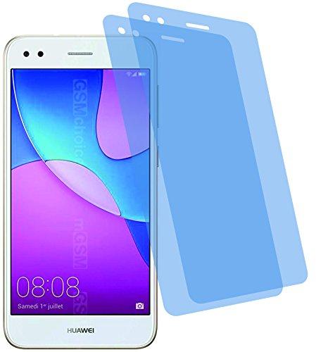 2X Crystal Clear klar Schutzfolie für Huawei Y6 Pro 2017 Bildschirmschutzfolie Displayschutzfolie Schutzhülle Bildschirmschutz Bildschirmfolie Folie