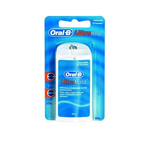 Oral-B Ultrafloss Zahnseide 50m, 2er Pack (2x 50m)