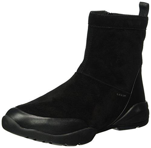 Geox Damen D Sfinge C Kurzschaft Stiefel, Schwarz (BLACKC9999), 40 EU