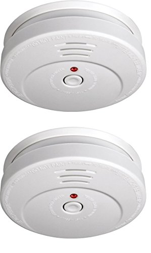Smartwares TÜV Rauchmelder / Brandmelder, 2-er Set, DIN EN 14604, reinweiß, RM149/2_1J