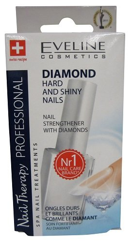 Eveline Hard and Shiny Nails Nail Strengthener With Diamonds