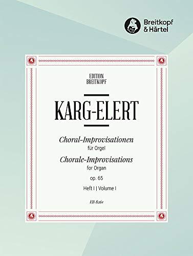 66 Choral-Improvisationen op. 65 für Orgel Heft 1: Advent, Weihnachten (EB 8261)