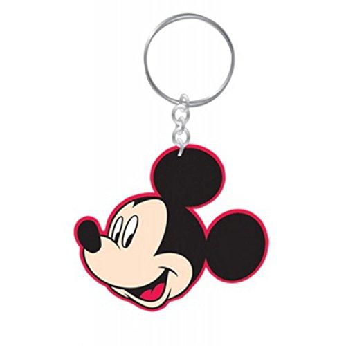 anhänger aus Gummi (Mickey Mouse (2)) (Disney Mickey Schlüsselanhänger)