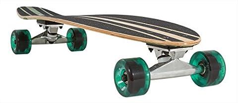 Mindless Raider II Longboard, Green - 34 inch