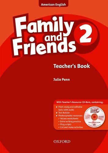 Family and Friends American Edition: 2: Teacher's Book & CD-ROM Pack por Naomi Simmons