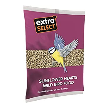 Extra Select Sunflower Hearts Wild Bird Food Tub