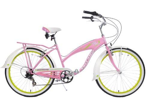 salcano-flyer-classic-american-california-style-ladies-comfort-beach-cruiser-26-wheel-18-frame-pink-