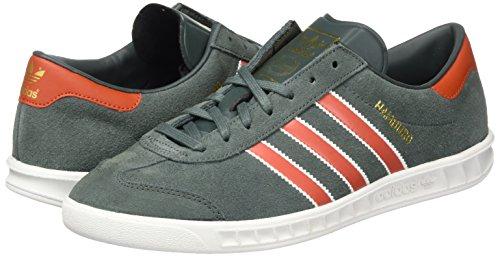 adidas Men's Hamburg Trainers, Multicolored (Utiivy/Crachi/Goldmt), 7